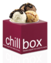 Chillbox frozen yogurt & juicy spoons